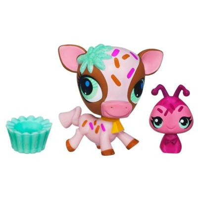 Littlest Pet Shop Sweetest Cow and Ladybug 2-Pack