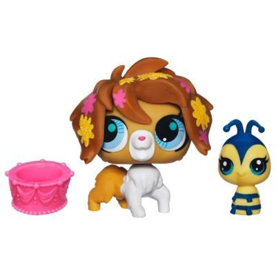 Littlest Pet Shop Sweetest Sheepdog and Bee 2-Pack