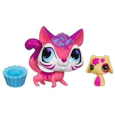 Littlest Pet Shop Sweetest Tiger and Puppy 2-Pack