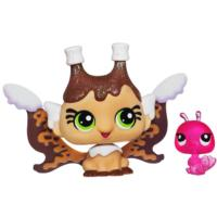 LITTLEST PET SHOP Fairies CANDYSWIRL DREAMS Pack (SMORES FAIRY and Peacock)