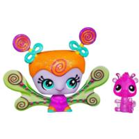 LITTLEST PET SHOP Fairies CANDYSWIRL DREAMS Pack (HONEY WHIRL FAIRY and Squirrel)