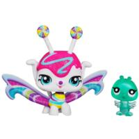 LITTLEST PET SHOP Fairies CANDYSWIRL DREAMS Pack (WHITE CHOCOLATE WHIRL FAIRY and Bird)