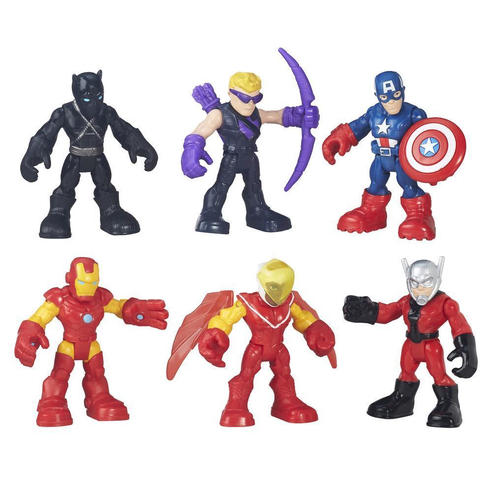 Playskool Heroes Super Hero Adventures Captain America Figure Pack
