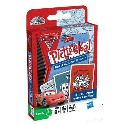PICTUREKA! Disney Pixar Cars 2 Edition Card Game