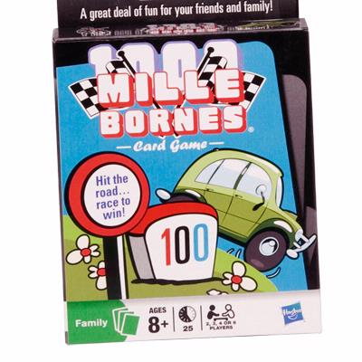 MILLE BORNES Card Game