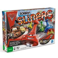 SORRY! Sliders Disney Pixar Cars 2 Edition Game