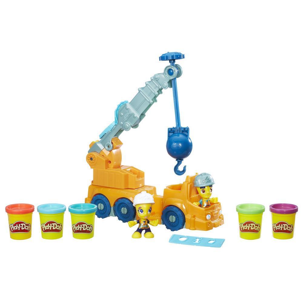 Play-Doh Town Power Crane
