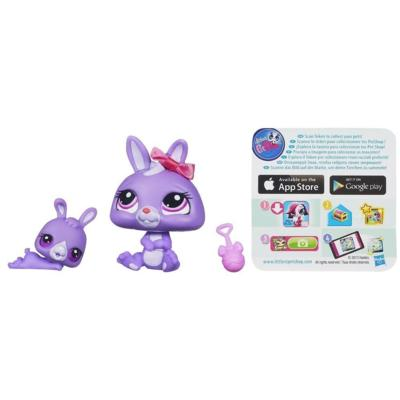 Littlest Pet Shop Favorite Pets Bunny and Baby
