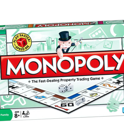 monopoly, glass house, game, hasbro