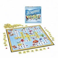 SCRABBLE Brand Crossword Game for JUNIORS EDITION