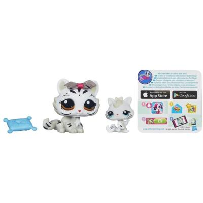 Littlest Pet Shop Favorite Pets White Tiger and Baby