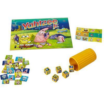 YAHTZEE Jr. SpongeBob SquarePants Edition Card Game