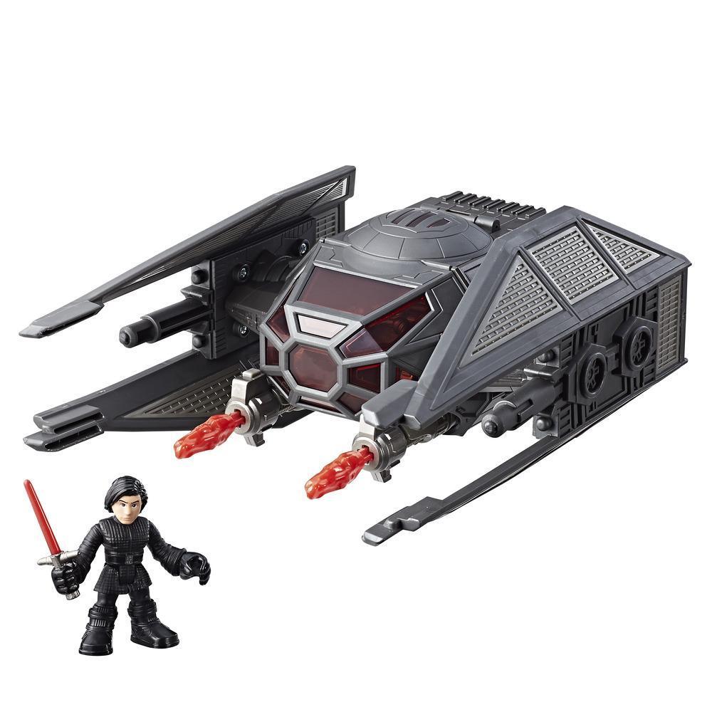 Star Wars Galactic Heroes Kylo Ren and TIE Silencer