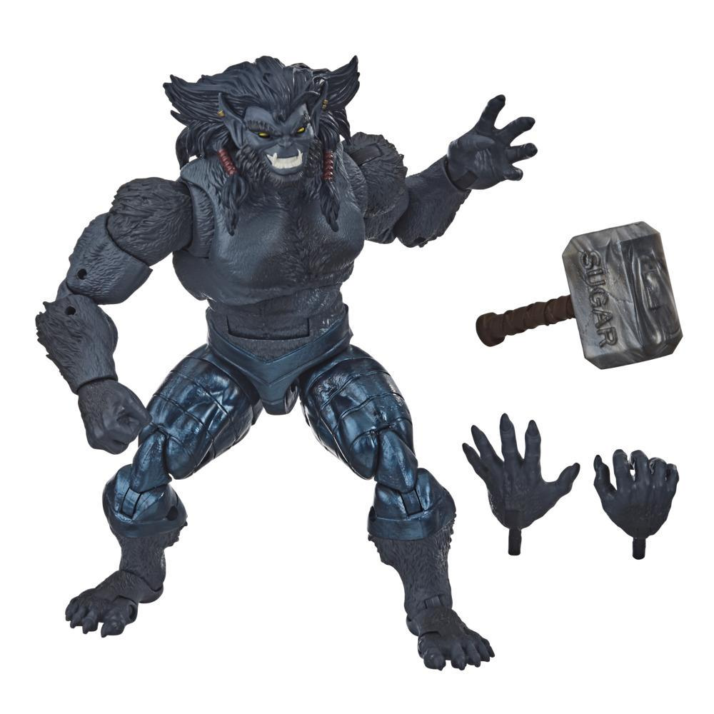 Hasbro Marvel Legends Series 6-inch Marvel's Dark Beast Action Figure Toy X-Men: Age of Apocalypse Collection
