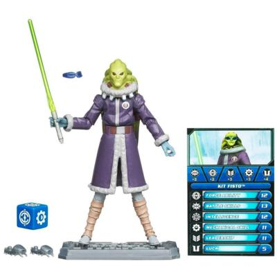 STAR WARS THE CLONE WARS KIT FISTO
