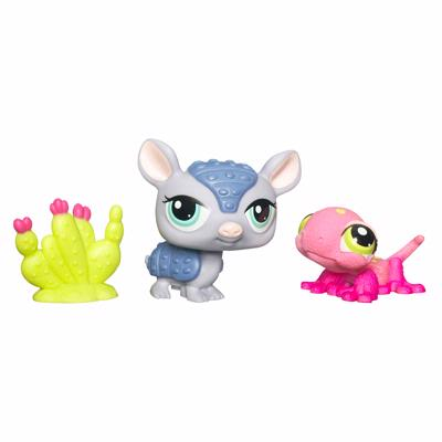 LITTLEST PET SHOP (Gecko and Armadillo)
