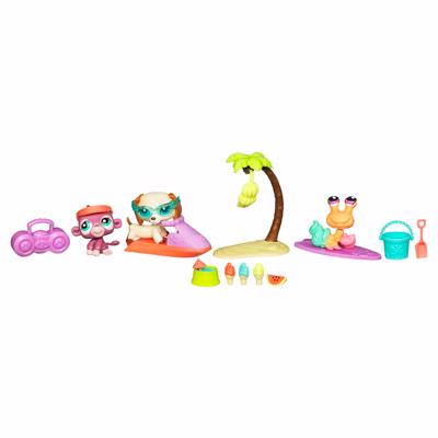 LITTLEST PET SHOP - SWIM & SAND ADVENTURE PlayPack