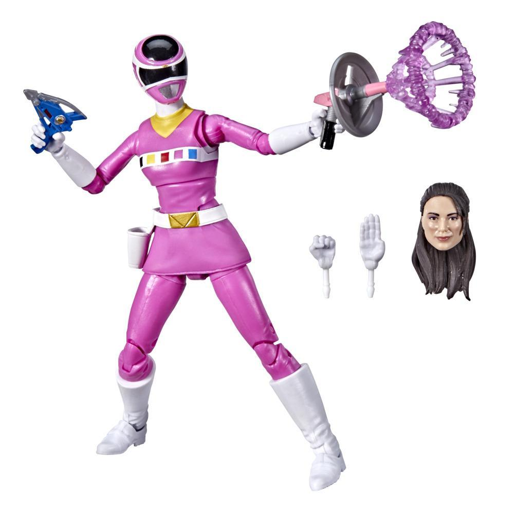 Power Rangers Lightning Collection In Space Pink Ranger 6-Inch Premium Collectible Action Figure Toy with Accessories