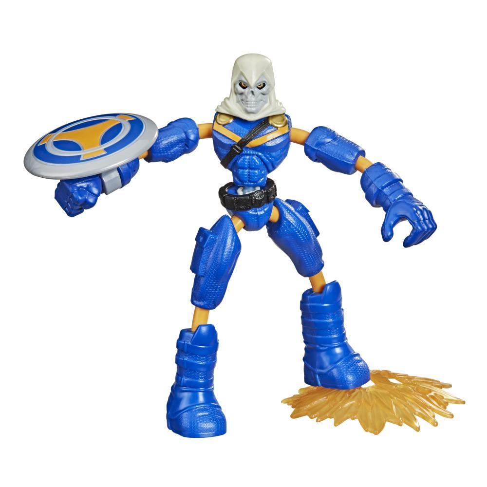 Marvel Avengers Bend And Flex Action Figure Toy, 6-Inch Flexible Taskmaster, Includes Accessory, Ages 4 And Up