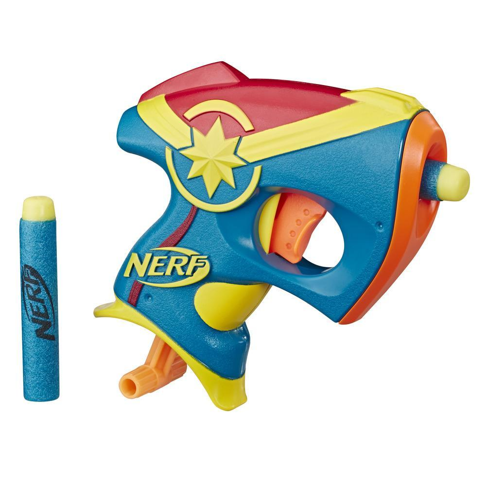 Captain Marvel Nerf MicroShots Marvel Toy Blaster