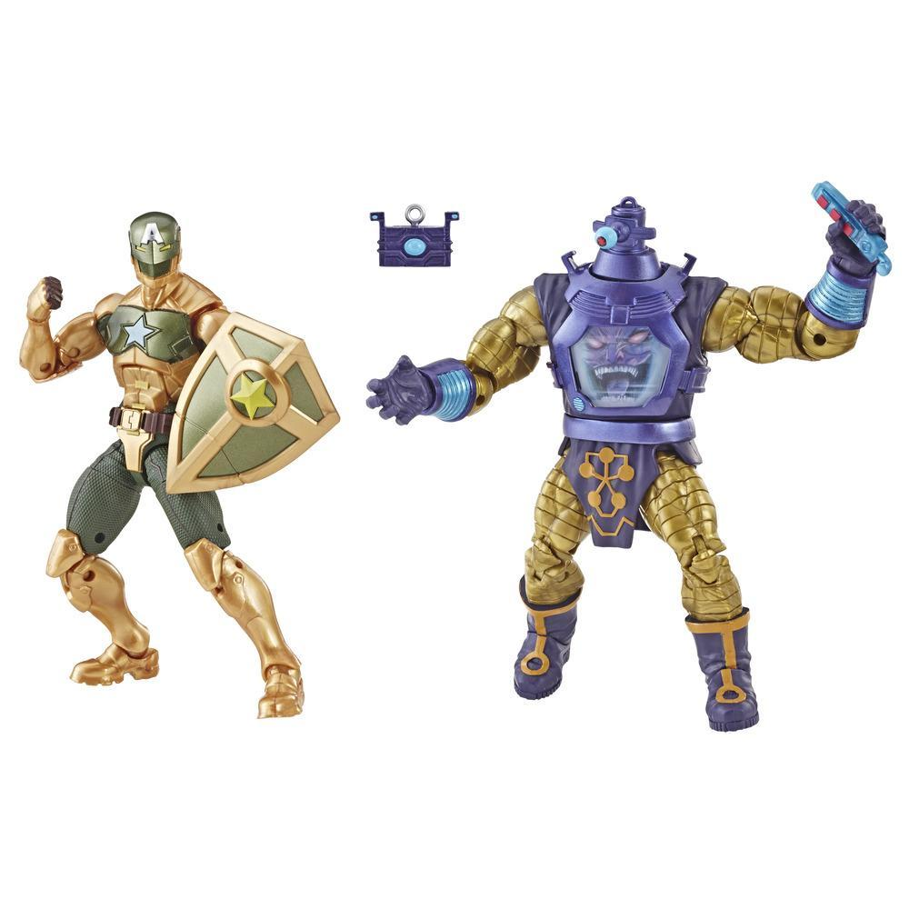 Marvel Legends Series Supreme Leader Captain America & Arnim Zola 2-Pack