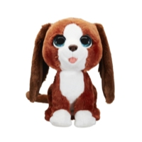 furReal Howlin' Howie Interactive Plush Pet Toy, 25+ Sound-&-Motion Combinations, Ages 4 & Up
