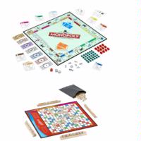 MONOPOLY and SCRABBLE Classic Games Value Pack Instructions