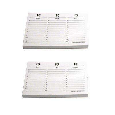 SCATTERGORIES Game Answer Pad Refill