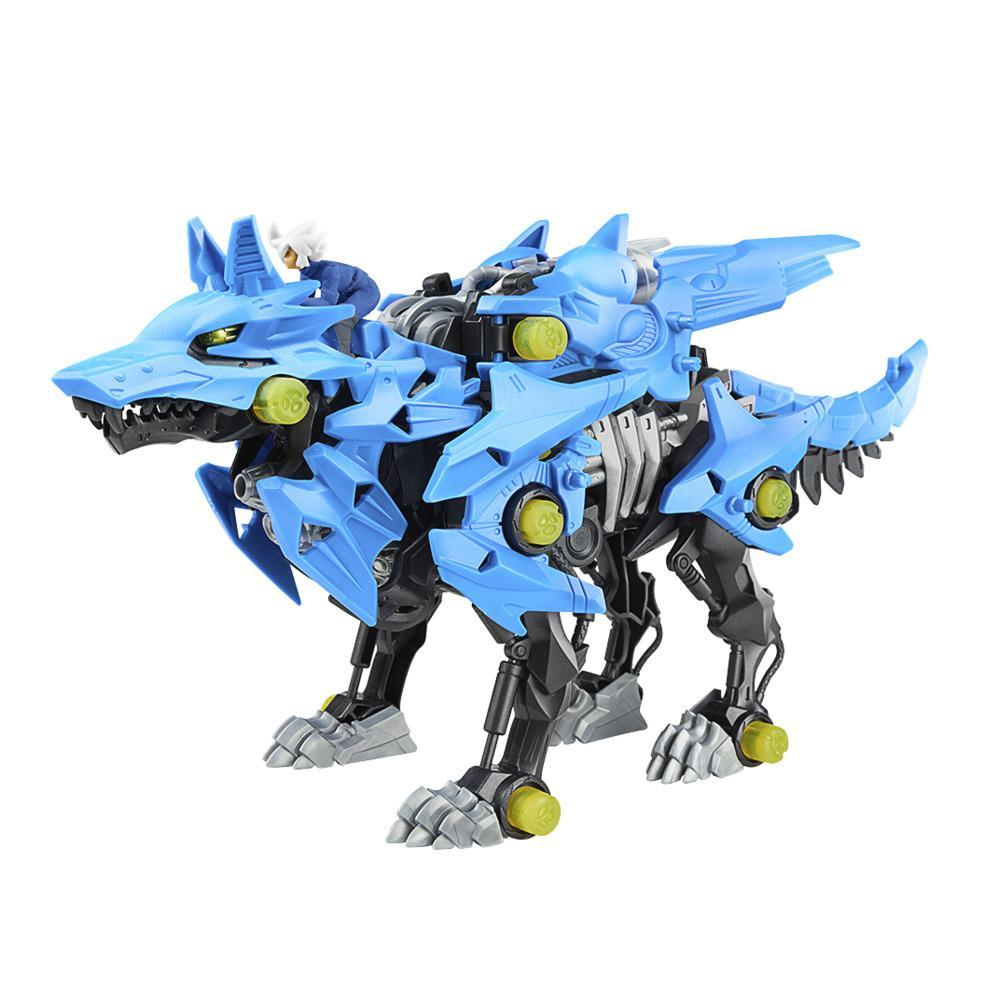 Zoids Giga Battlers Alpha Shadow - Wolf-Type Buildable Beast Figure, Motorized Motion - Kids Toys Ages 8 and Up, 58 pieces