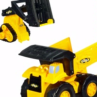 TONKA REAL RUGGED Dump Truck with Flatbed & Front Loader