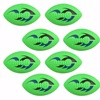 Party Favor 8-Pack: NERF TURBO JR Football (Green)