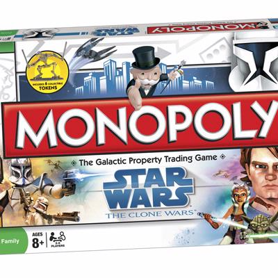MONOPOLY Star Wars Clone Wars Edition
