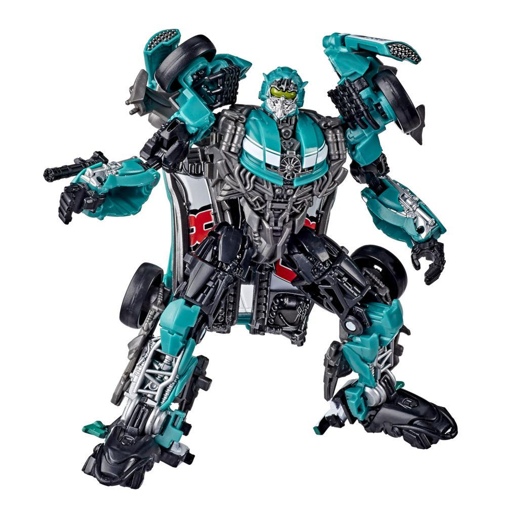 Transformers Toys Studio Series 58 Deluxe Class Dark of the Moon Movie Roadbuster Action Figure – Ages 8 and Up, 4.5-inch