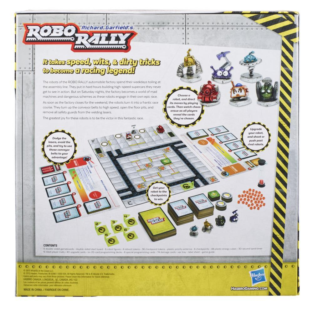 Avalon Hill Robo Rally Strategy Board Game, Ages 12 and Up, For 2-6 Players