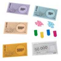 THE GAME OF LIFE Plastic Pieces and Money Refill