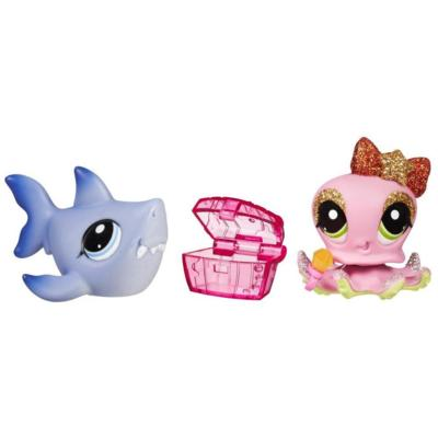 LITTLEST PET SHOP PRETTY PAIRS - Shark and Octopus