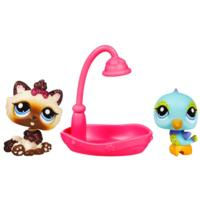 LITTLEST PET SHOP PRETTY PAIRS - Himalayan Cat and Bird