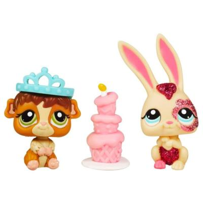 LITTLEST PET SHOP PRETTY PAIRS - Bunny and Guinea Pig