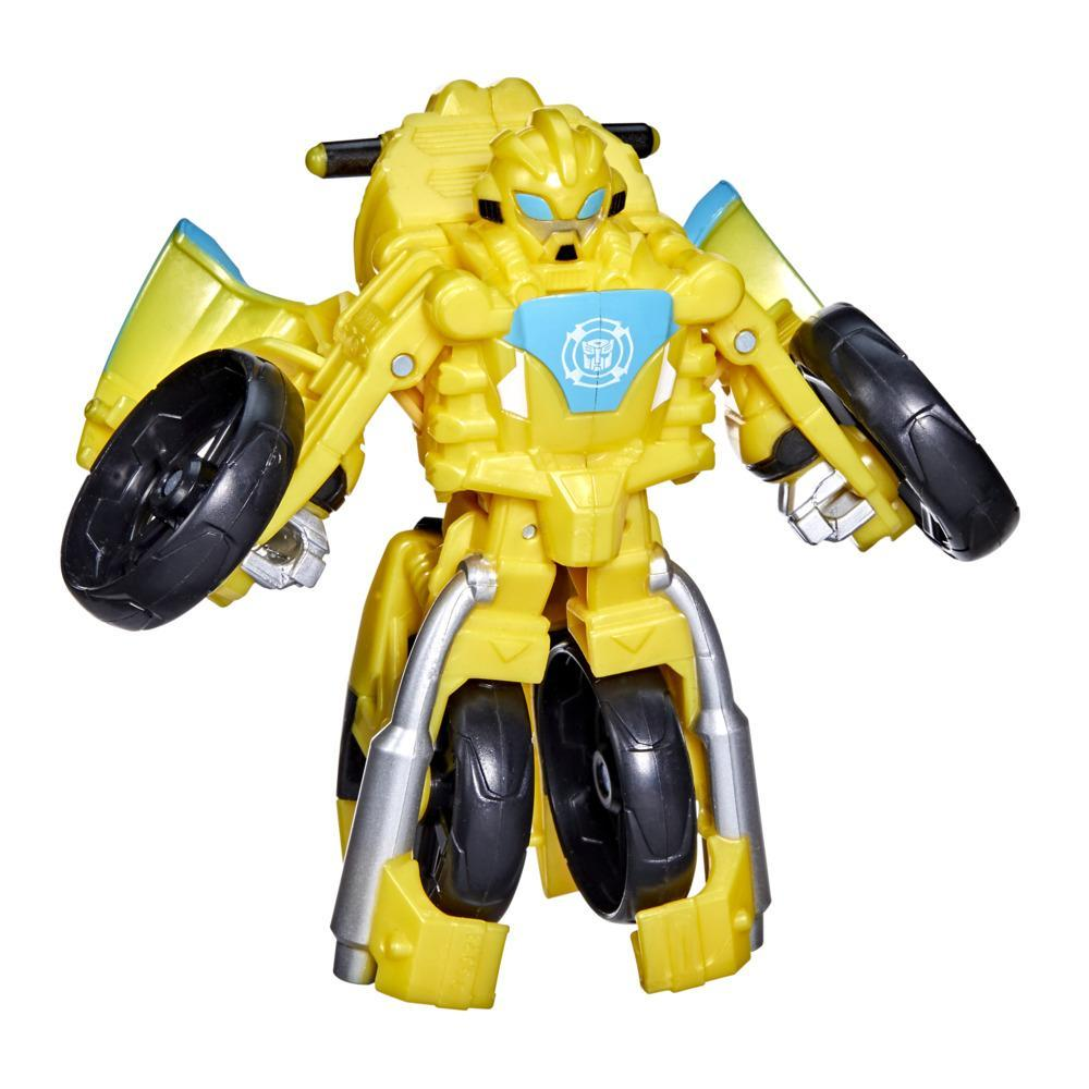 Transformers Rescue Bots Academy Bumblebee Converting Toy, 4.5-Inch Figure, Kids Ages 3 and Up