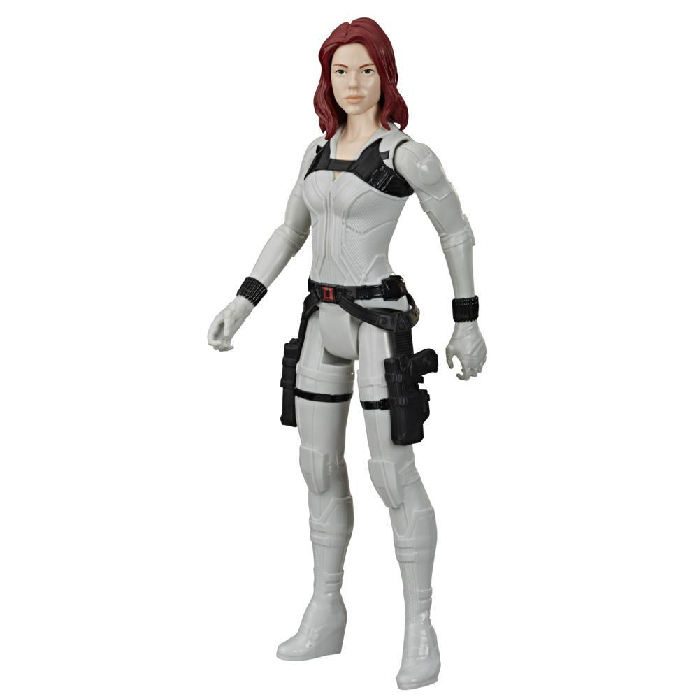 Marvel Avengers Black Widow Titan Hero Series Black Widow Action Figure, 12-Inch Toy, For Kids Ages 4 And Up