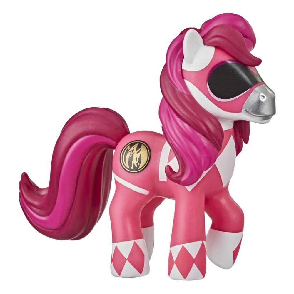 My Little Pony x Power Rangers Crossover Collection Morphin Pink Pony -- Power Rangers-Inspired Collectible Pony Figure