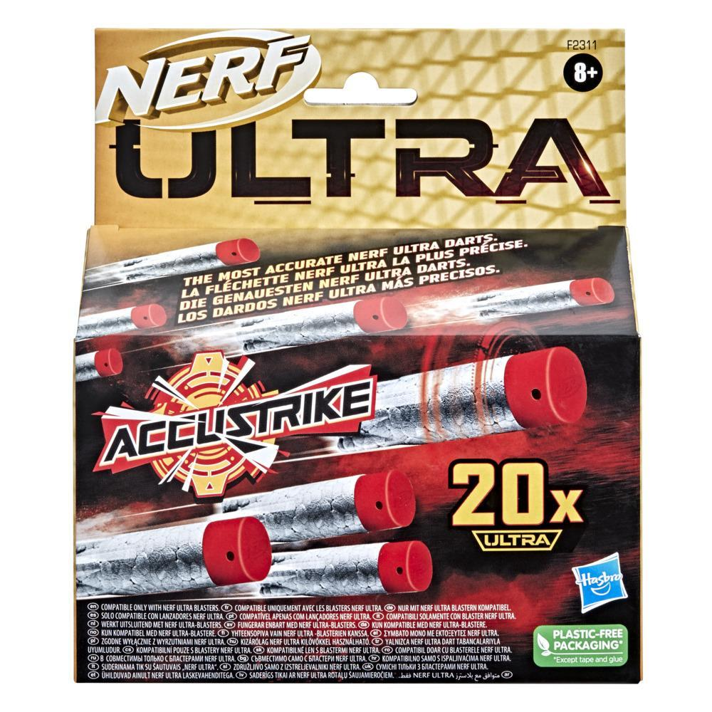 Nerf AccuStrike Ultra 20-Dart Refill Pack For Nerf Ultra Blasters, Compatible Only with Nerf Ultra Blasters