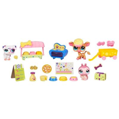 LITTLEST PET SHOP SPOTS & DOTS TREAT SHOP Playset