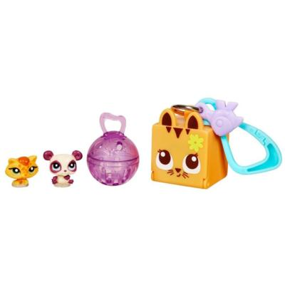 LITTLEST PET SHOP TEENSIES Keychain - Cat and Bear