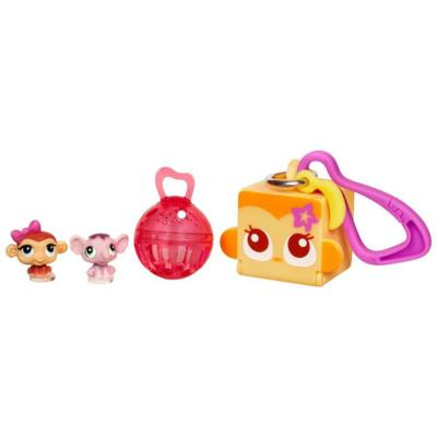 LITTLEST PET SHOP TEENSIES Keychain – Monkey and Elephant