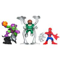 MARVEL Super Hero Squad THE AMAZING SPIDER-MAN Super Villain Surprise! 3-Pack