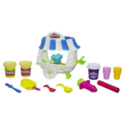 Play-Doh Ice Cream Sundae Cart Playset