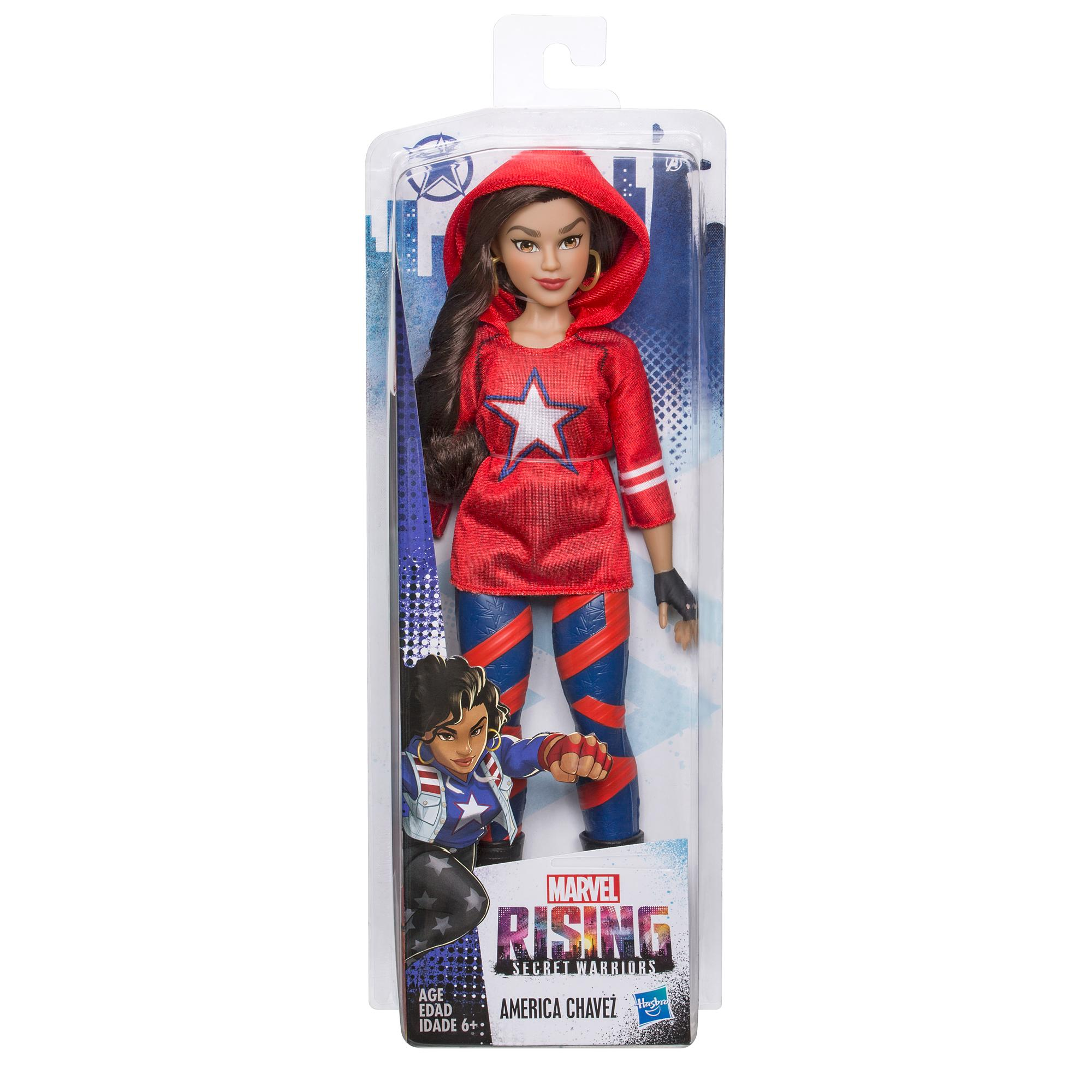 Marvel Rising Secret Warriors America Chavez Training Outfit Doll