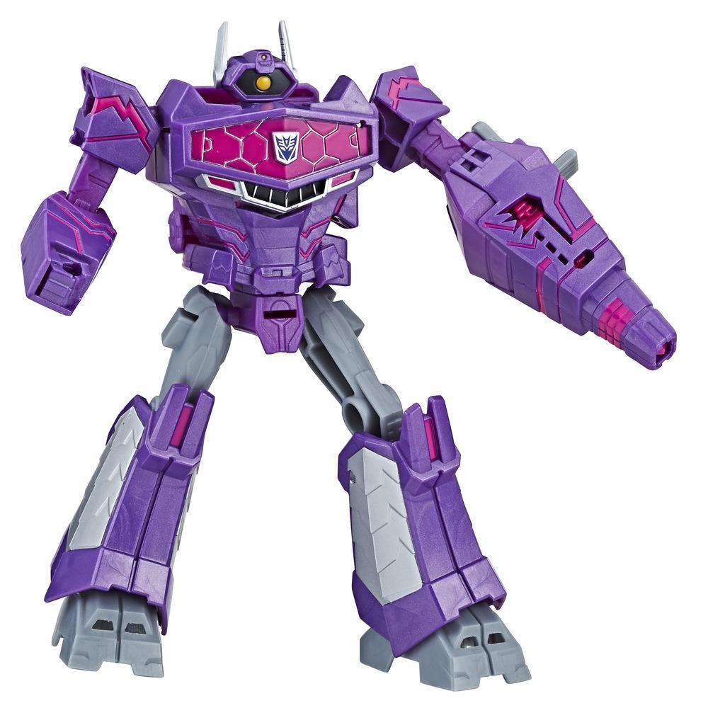 Transformers Toys Cyberverse Action Attackers Ultra Class Decepticon Shockwave Action Figure - Repeatable Shock Blast Move - For Kids Ages 6 and Up, 7.5-inch