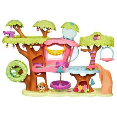 LITTLEST PET SHOP MAGIC MOTION Tree House Playset